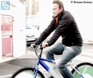 cyclistes sandwichs