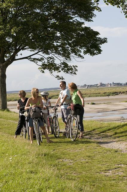 randonnée cycliste Baie de Somme