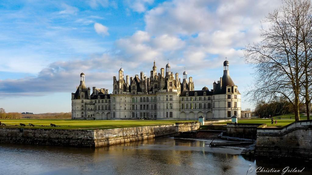 Liste châteaux de la Loire château de Chambord
