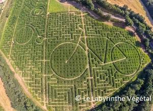 vacances avec enfants-labyrinthe