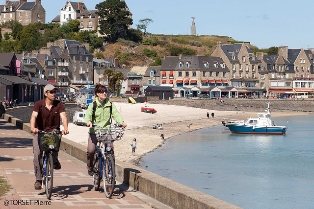 Bretagne bord de mer à vélo
