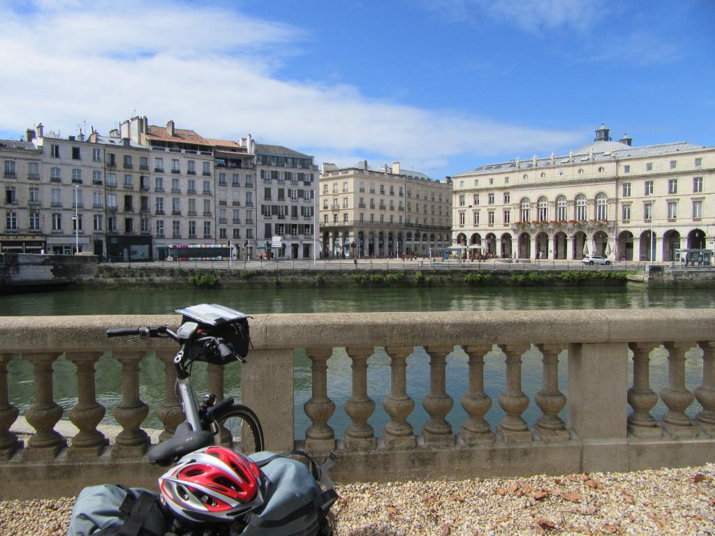 landes à vélo entre arcachon et biarritz-Bayonne