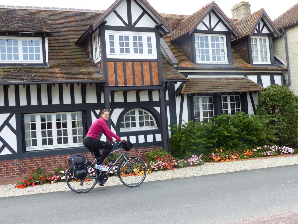 cote normande à vélo