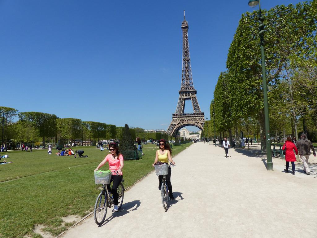 balades vélo à Paris