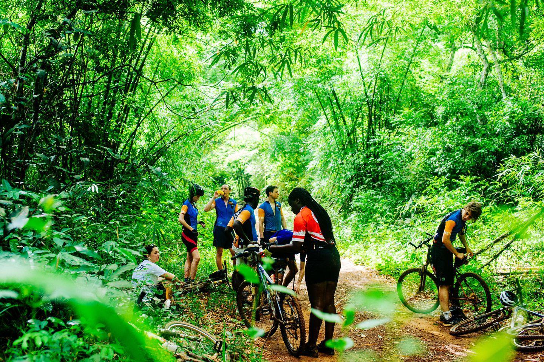 rando vélo en Afrique