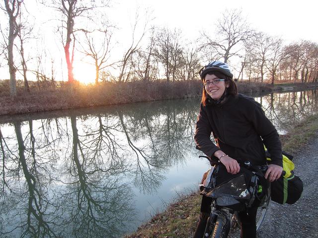premier voyage à vélo - canal du midi
