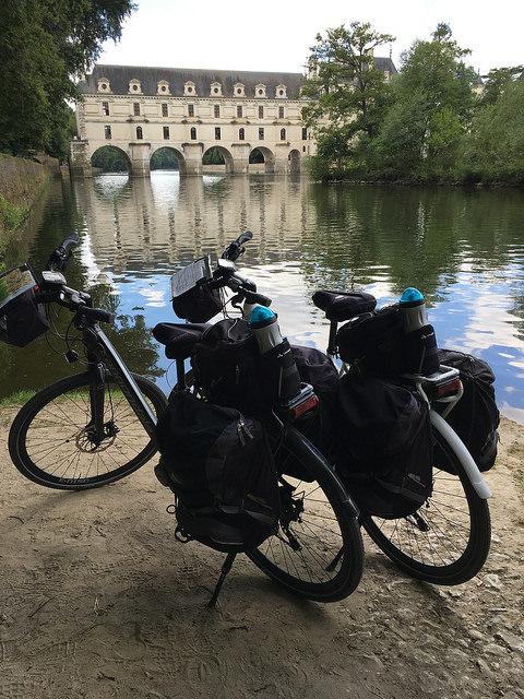 premier voyage à vélo - chenonceau