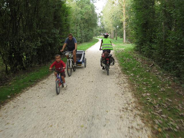 premier voyage à vélo - bourgogne