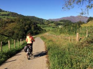 randonnée velo au Pays Basque