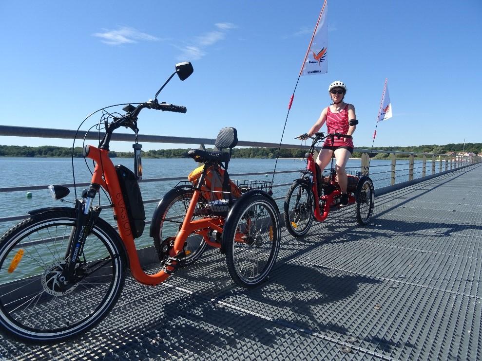 séjour en tricycle autour du Lac de Der